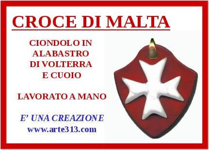 Ciondolo Croce di Malta