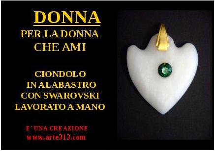Ciondolo                         Donna