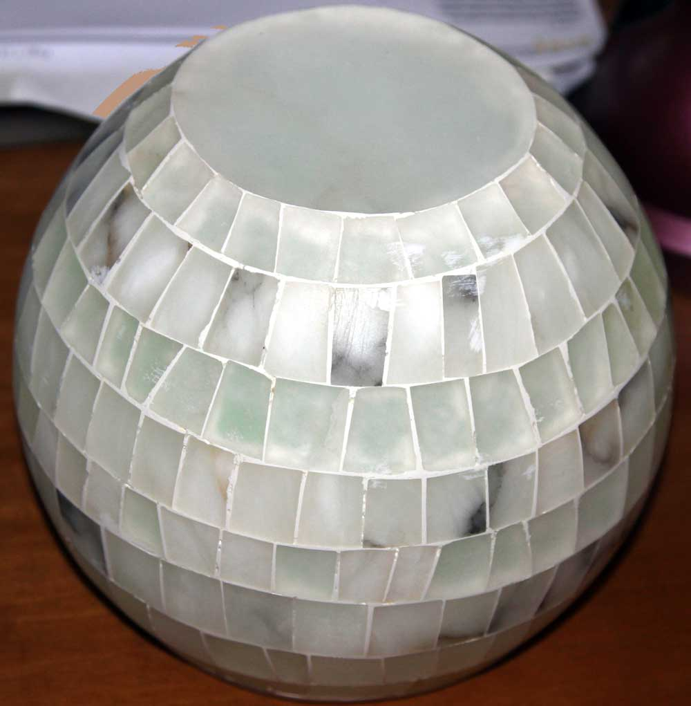 Vaso alabastro tondo